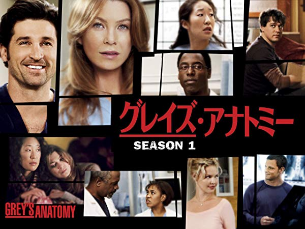 グレイズ・アナトミー/Grey's Anatomy シーズン1