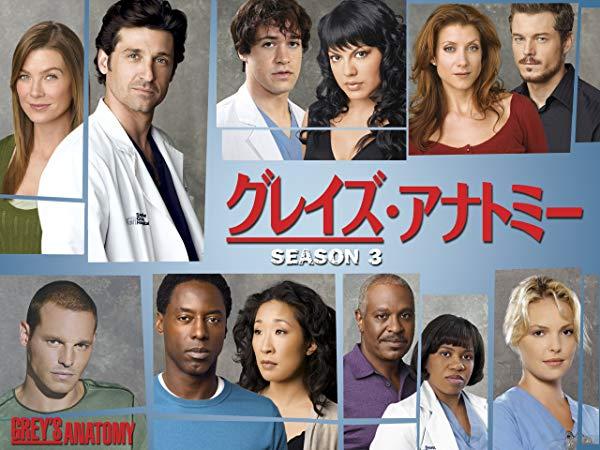 グレイズ・アナトミー/Grey's Anatomy シーズン3